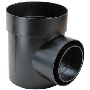 Nds One Hole Catch Basin Corrugated 6 Black Pvc