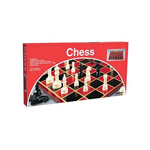 Plastic Chess Folding Mat Gambit Tournament Chess Set Kids Game Toys