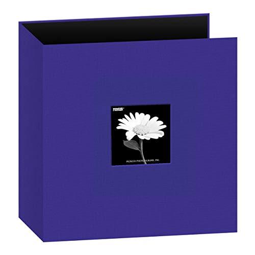 Pioneer 234-24 Fabric 3-Ring Binder Album 8.5″X11″-Blue