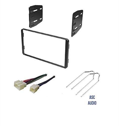 ASC Car Stereo Radio Install Dash Kit, Wire Harness, and ... Aftermarket Radio Wiring Harness For Ford on